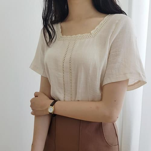 Bayer Lace Blouse