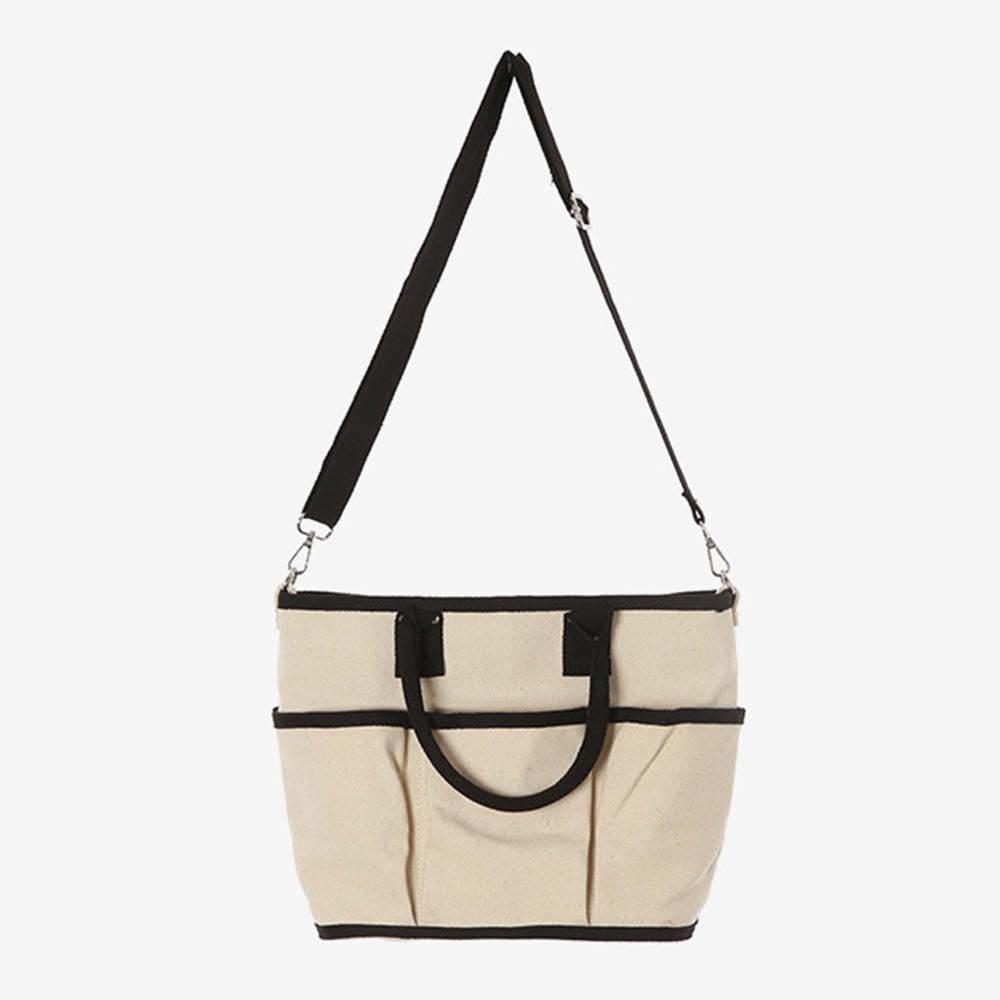pocket cotton bag