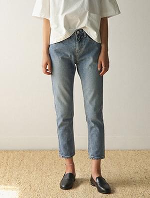 8-length slim baggy pants