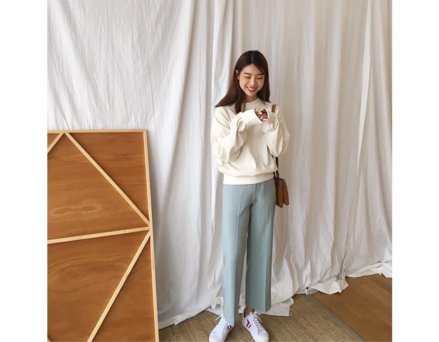 Made_bottom-124_Wearable slacks (size : S,M,L)