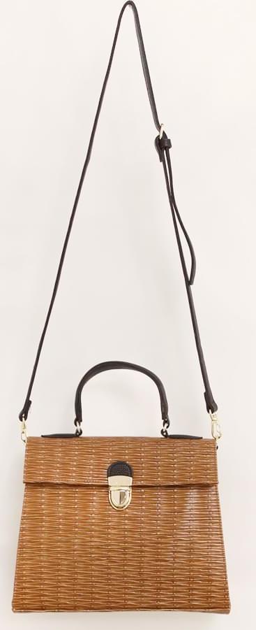 CLASSIC STRAW TOTE BAG