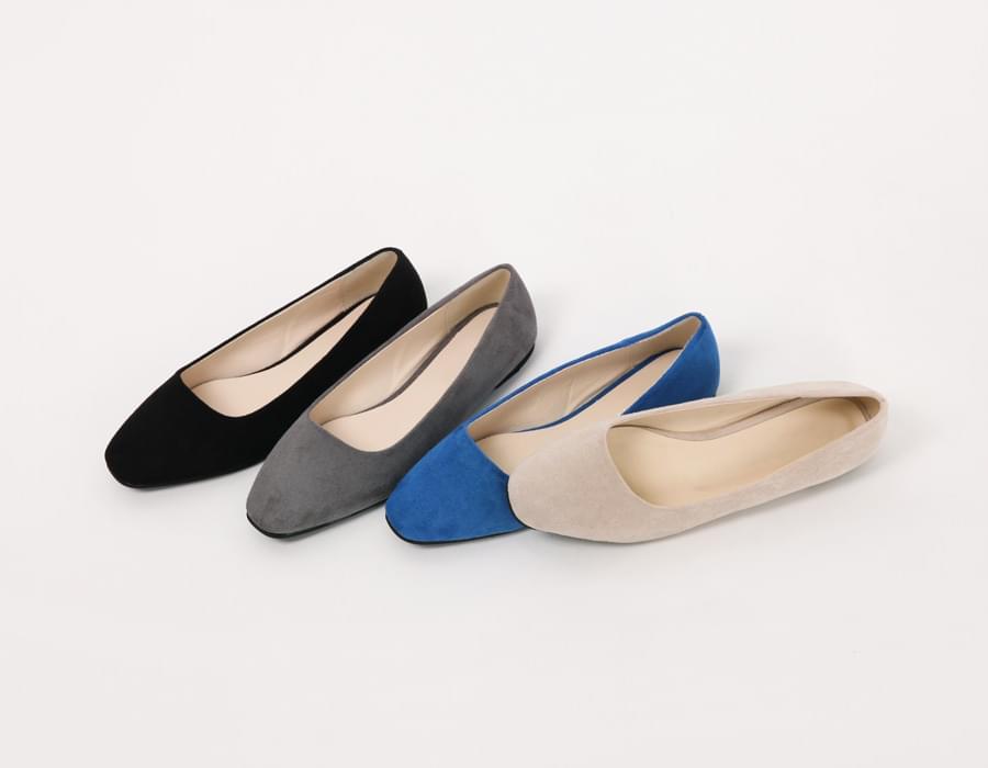 Lori suede minimal shoes_M (size : 230,235,240,245,250)