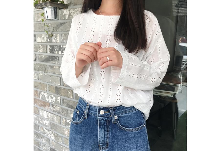 Seraphic lace blouse_H (size : free)