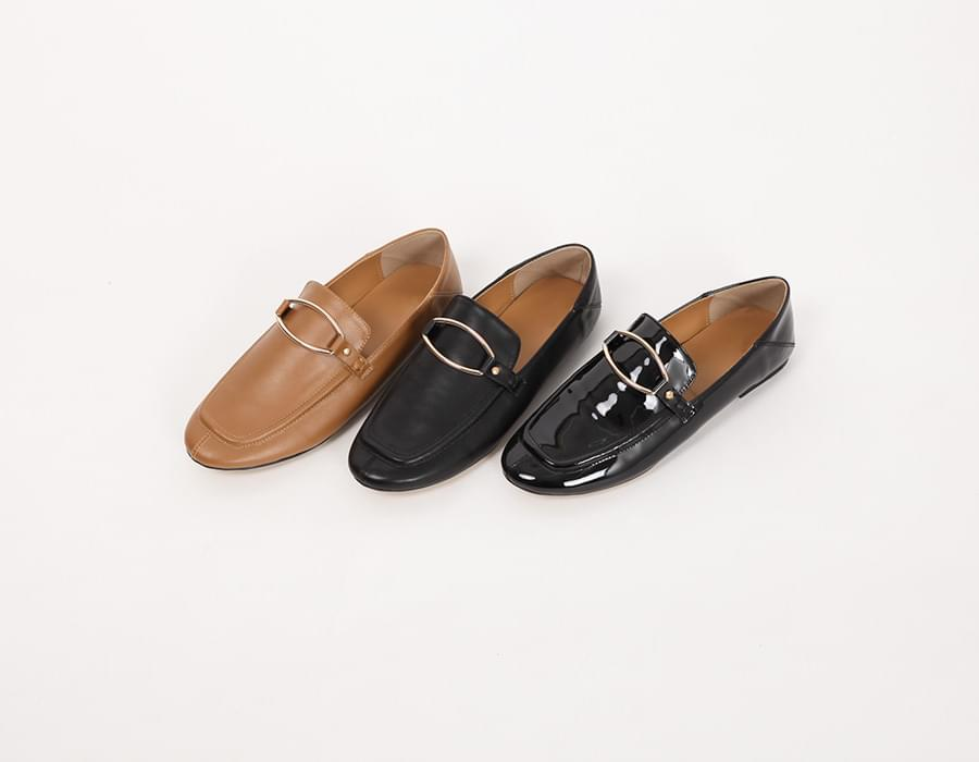 Rich gold buckle loafer_K (size : 230,235,240,245,250)