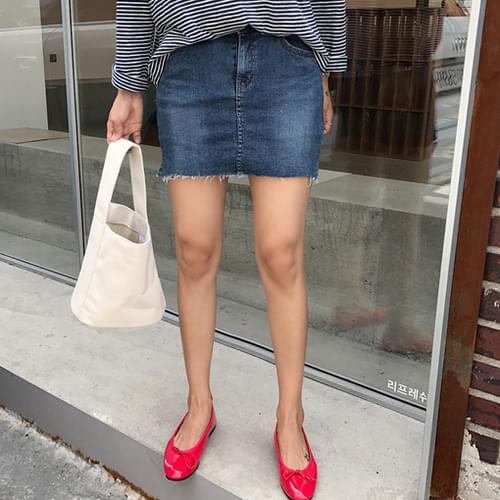 Score-skirt pants [size: S, M, L / 2color]