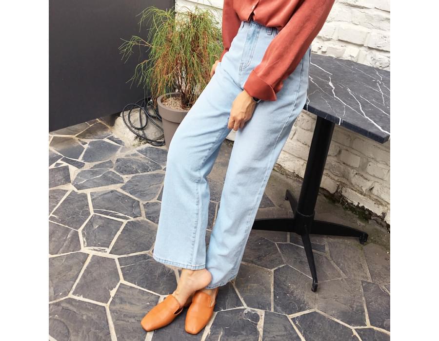 Hudson loose denim pants_M (size : S,M)