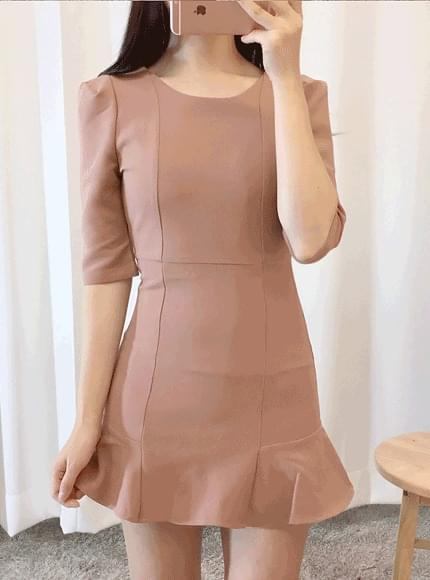 Roda frilly dress