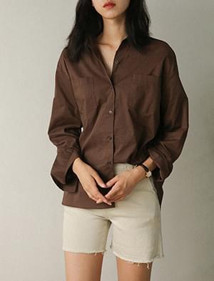neutral basic collar shirts