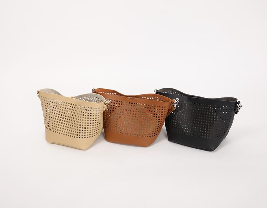 Punching basket bag_K (size : one)