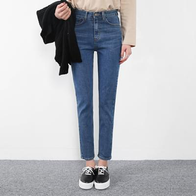 High slim date pants