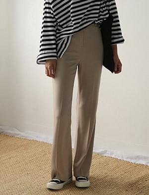 slim line boots-cut pants