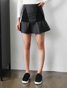 Mermaid Leather Skirt