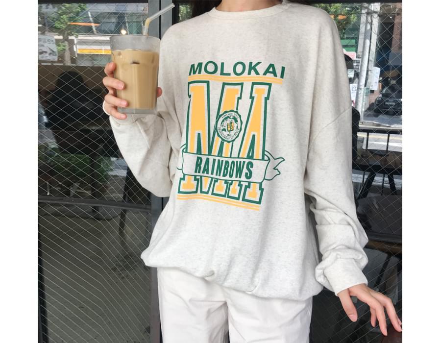 Molokai unisex mtm_S (size : free)