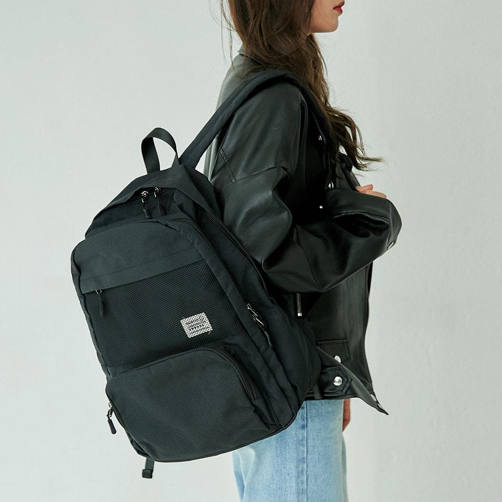 mesh two pocket backpack