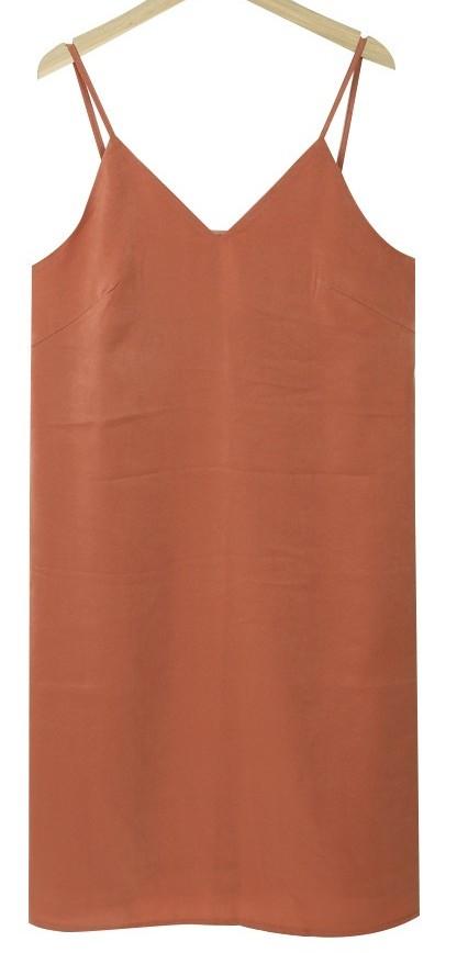 글로시 뷔스티에 원피스 (3color)