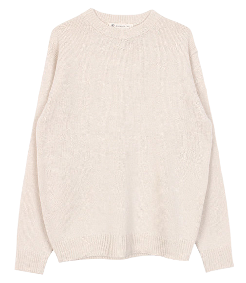 Boxy round knit (3color)