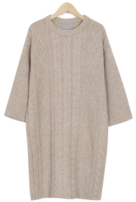 Croquette knit ops_H (size : free)