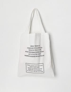 Pitch Lettering Eco Bag