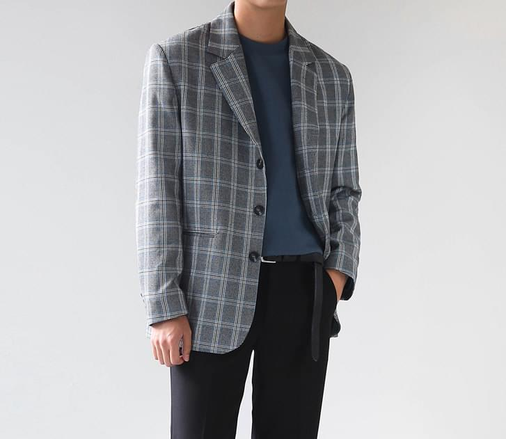 Poplin Checked Jacket