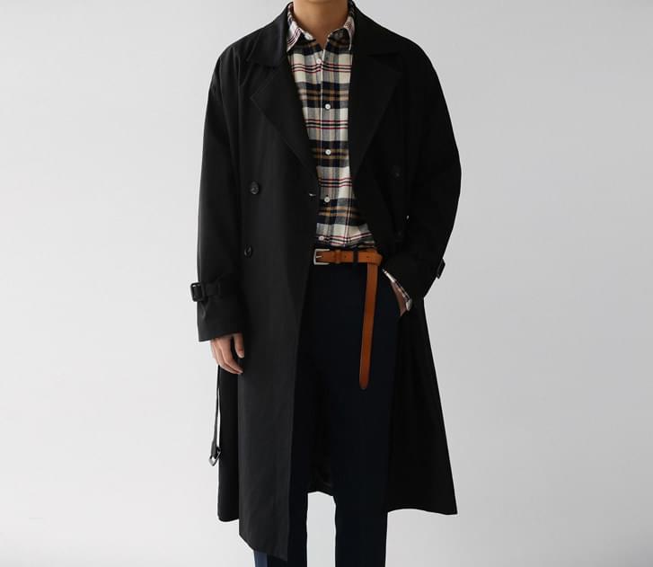 Melton Trench Coat