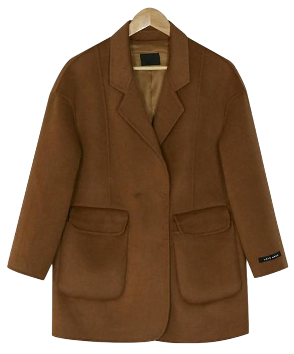 boy fit vintage wool coat