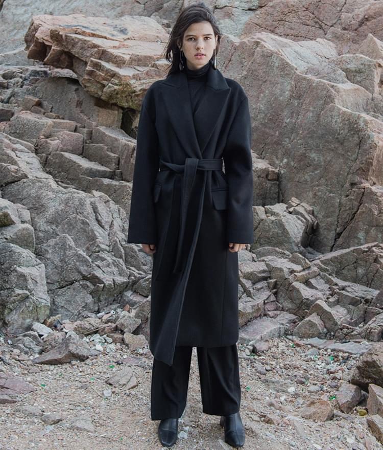 LONG COAT (Wool 90%)