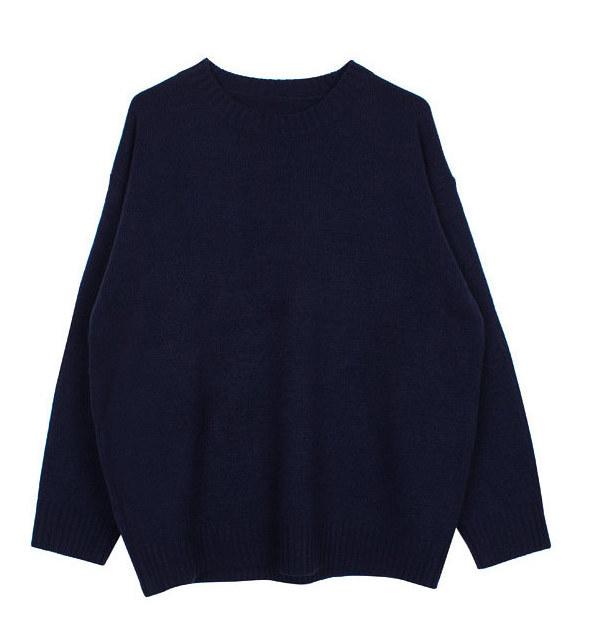 Color boxy knit (7color)