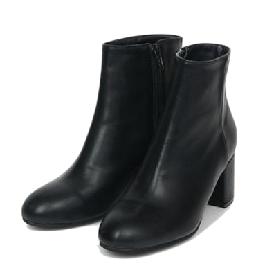 basic leather ankle boots (225-250)
