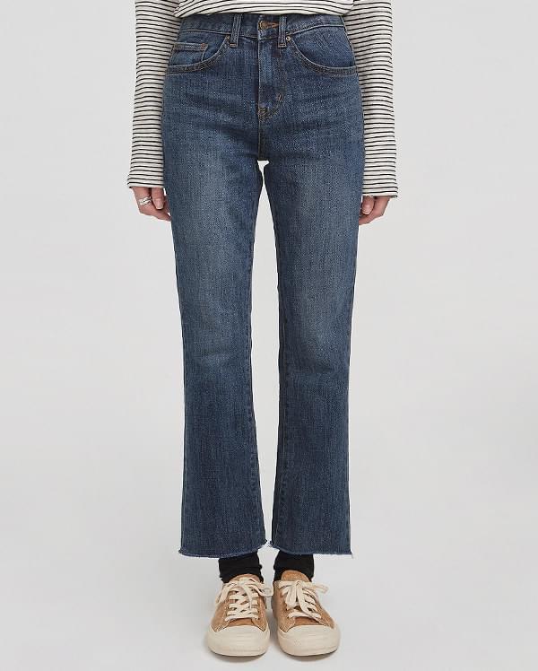 standard boots cut denim pants (25-29)