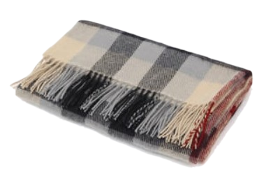 burberry check muffler