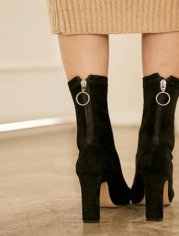 preen socks ankle heel
