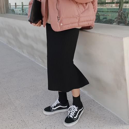Clara-knit skirt