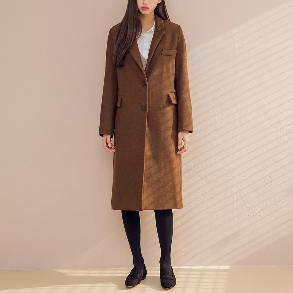 wearable daily wool coat (wool50%)