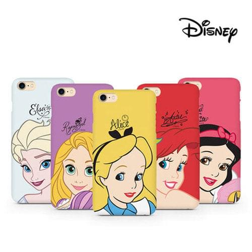 Disney Face Princess Hard Case / iPhone 7 case / iPhone 6 case / iPhone case / Galaxy s8 case / Galaxy s8 plus case / Galaxy s7 case / Galaxy s7 edge case / Galaxy Note 5 case / iPhone case / Daily / Tidy / Lovely / simple