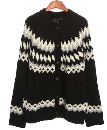 ruberry wool cardigan