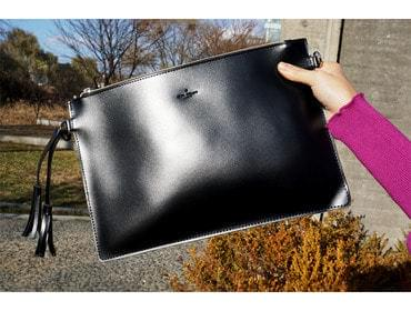 Taced decorative square clutch and cross bag 手拿包