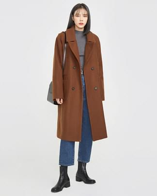 loyd wool double coat