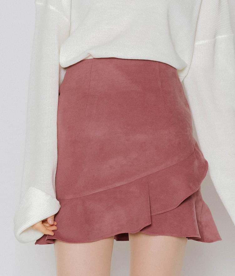 Purple lap skirt