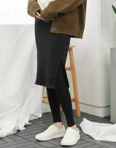 Mink skirt leggings = leggings / 2color