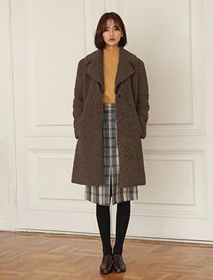 韓國空運 - Big Cara Buckle Coat 大衣外套