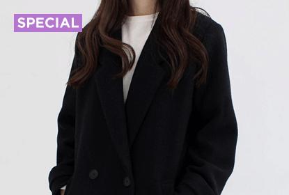기본 겨울 아우터 '검정 코트'로 일주일 버티기