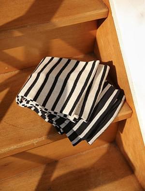 stripe cotton muffler