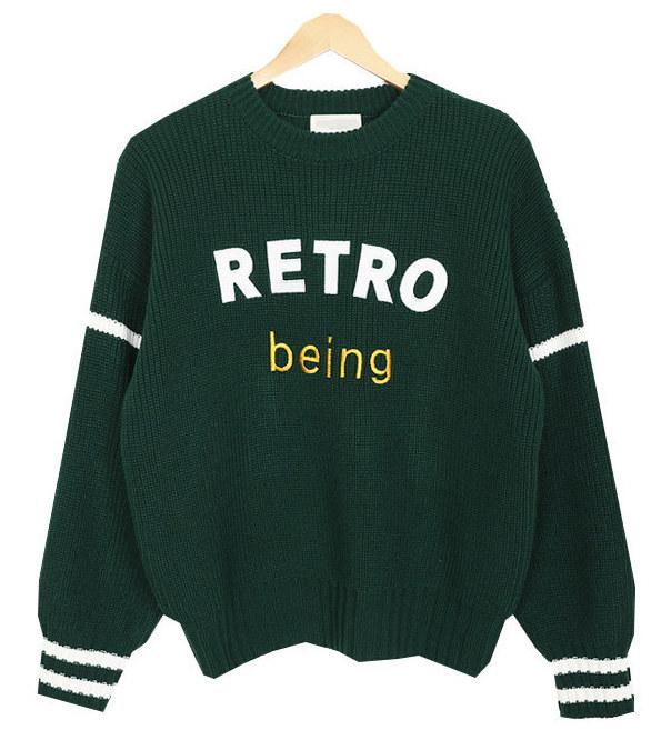 Retro Round Knit