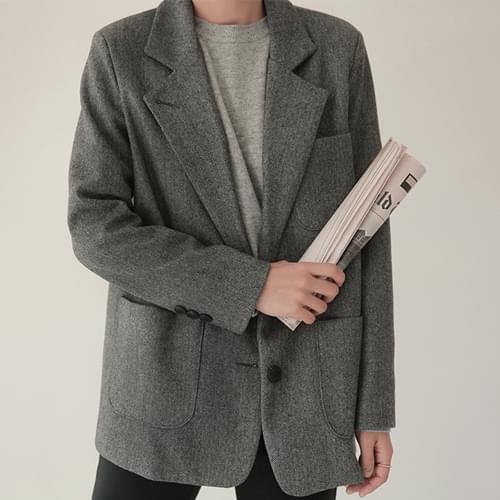 News-헤링본자켓 (울30%,3온스누빔)[size:44~66 / 2color]