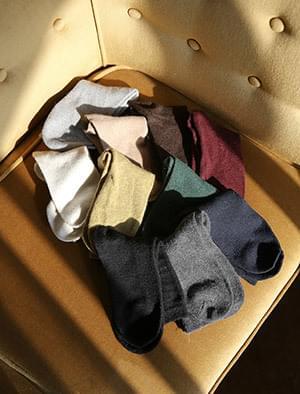 10 colors wool socks