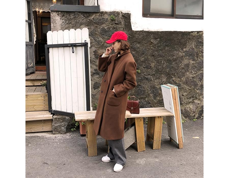Away long wool slacks_H (size : S,M)