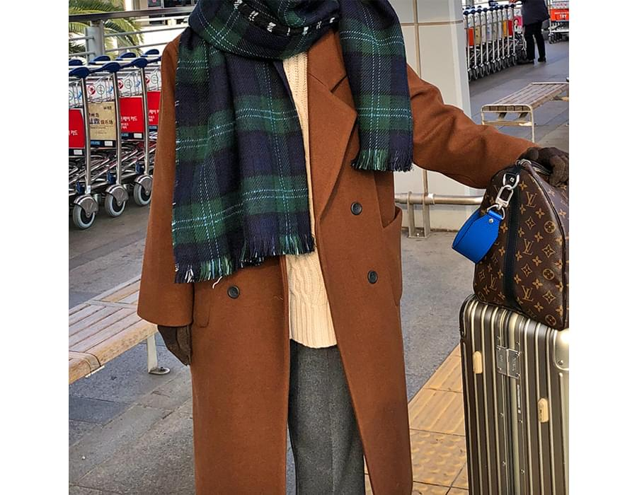 Take double long coat_B (size : free)