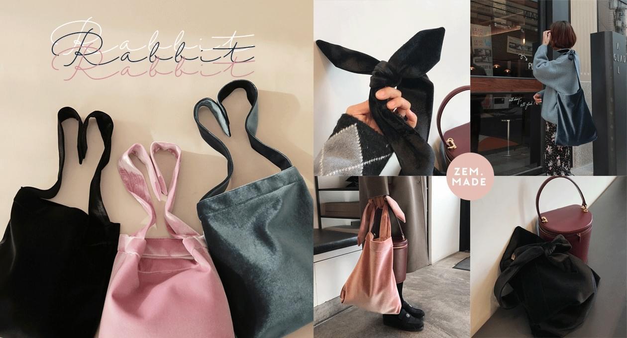 (ZEM.made)Rabbit bag
