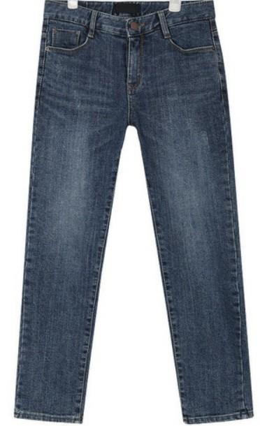 smart napping denim pants (s, m, l)
