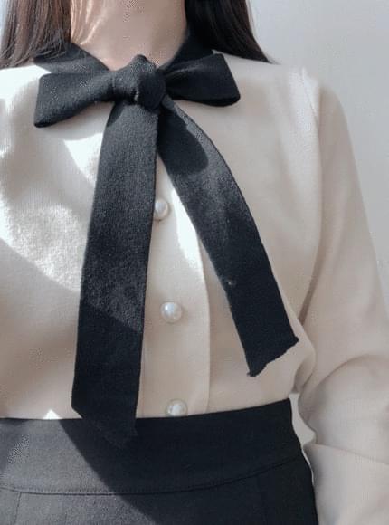주문폭주할인♥ 베이비 진주 니트가디건(3color)